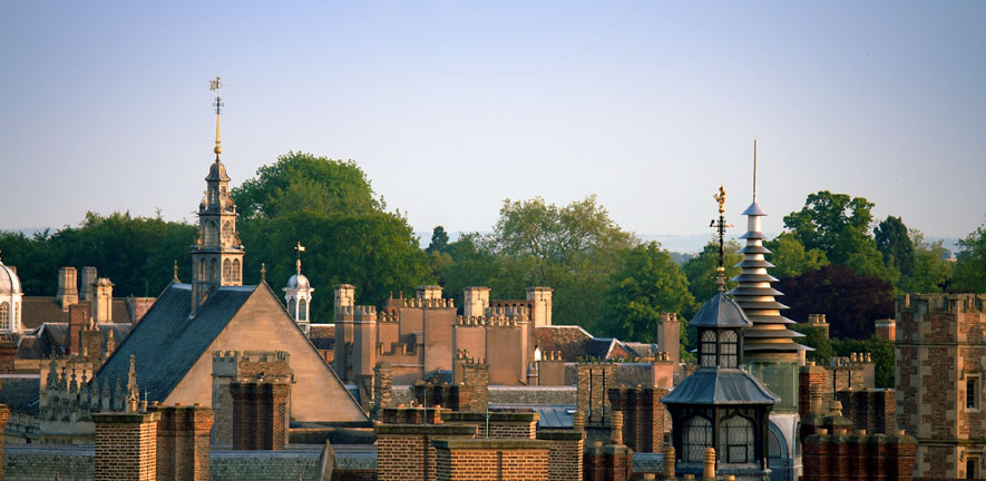Cambridge colleges skyline